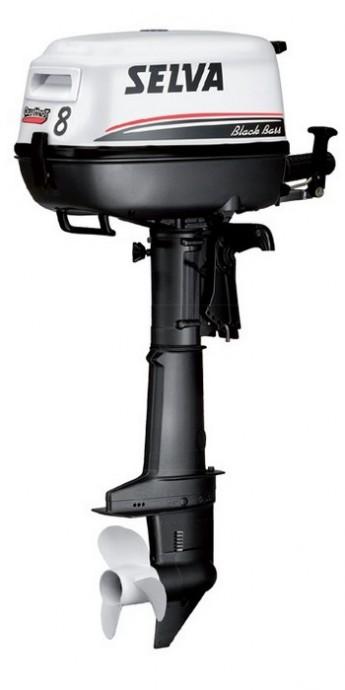 Лодочный мотор Selva BLACK BASS 8