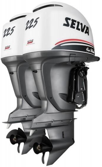 Лодочный мотор Selva FIN WHALE 2 x 225 E.F.I.