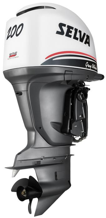 Лодочный мотор Selva GREY WHALE 200 E.F.I.
