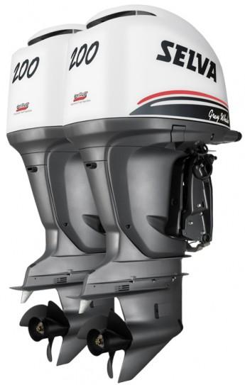 Лодочный мотор Selva GREY WHALE 2 x 200 E.F.I.