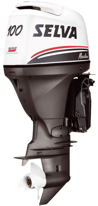 Лодочный мотор Selva MARLIN 100 E.F.I.