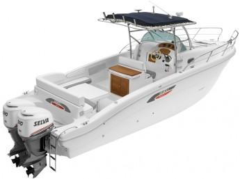 Лодка Selva Sundeck Line SD 9.0 Cabin