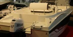 Лодка Selva SD 5.7 Elegance с двигателем Selva DORADO F60PK XSR