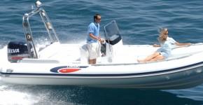 Надувная лодка с жестким дном (RiB) Selva Evolution Line D.680