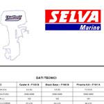 Иллюстрированные каталоги запчастей для моторов Selva Marine.