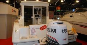 Один из экспонатов выставки Dusseldorf Boat Show 2011