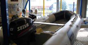 Лодка Selva PA 460 ALU c двигателем Selva Moray 25