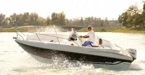 Open Elegance Line: Модель 5.7 Elegance с мотором Marlin 100 EFI